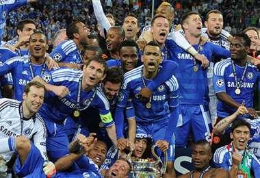 El Chelsea inglés es el actual campeón de la Champions. Foto: Internet