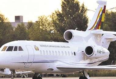 El avión presidencial FAB 001 fue adquirido en la gestión de Morales