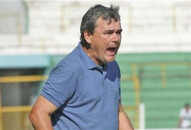 Víctor Hugo 'Tucho' Antelo, entrenador de Guabirá. Foto: El Deber