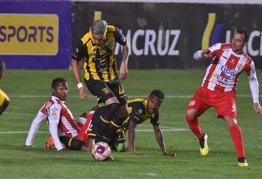 El Tigre no pudo de local este domingo ante Independiente. Foto: APG