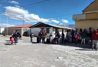 La gran cantidad de migrantes en la frontera I Alcaldía de Colchane.