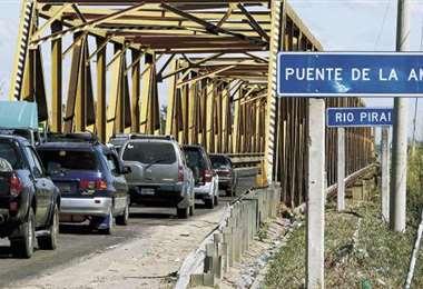 Productores bloquearán el puente de la Amistad desde las 6:00