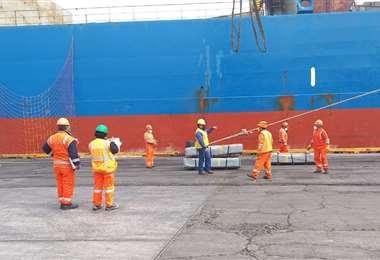 Bolivia busca otras alternativas de puertos para el comercio exterior/Foto: ABI
