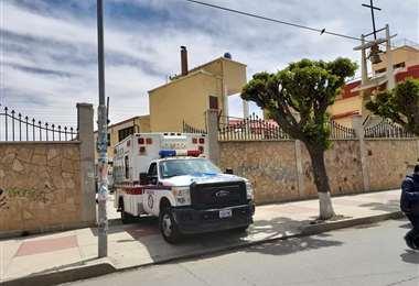 Ancianitos del hogar La Sagrada Familia se contagiaron de covid. Foto: Cieso