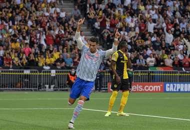 Cristiano vuelve a anotar en la Champions. Foto AFP