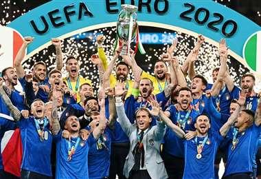 La selección de Italia es la actual campeona de la Eurocopa. Foto: Internet