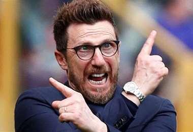 Di Francesco perdió tres partidos seguidos con el Hellas Verona. Foto: Internet