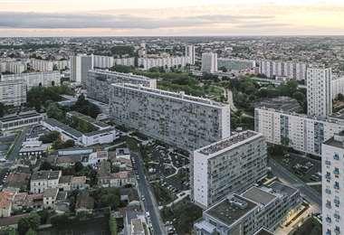La zona de los edificios Lacaton & Vassal