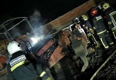 Incendio en Camargo