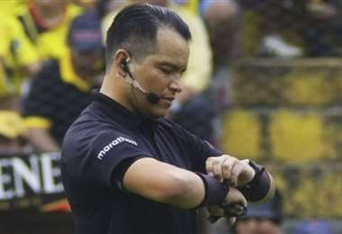 Luis Muentes, presidente de los árbitros ecuatorianos. Foto: Internet