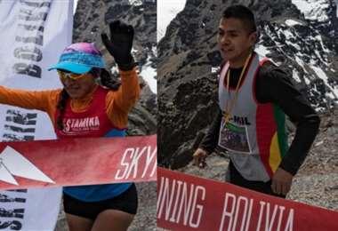 Jhoselyn Camargo y Alex Mita representarán a Bolivia. Foto: Febsa