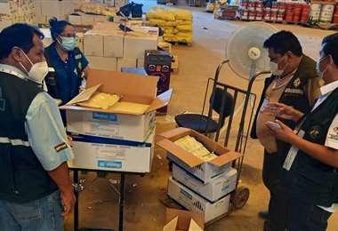 Funcionarios del Senasag verificaron el incumplimiento a normas fitosanitarias