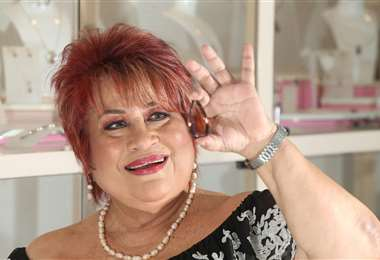 Fanny Jiménez con 'La Bolivianita'
