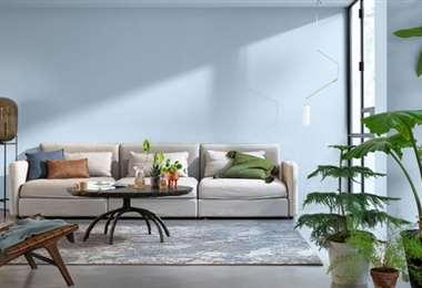 La tendencia en colores para interiores
