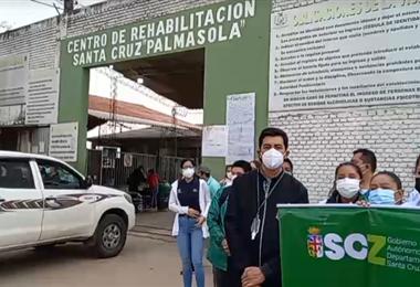 Sedes desplaza brigadas médicas a Palmasola