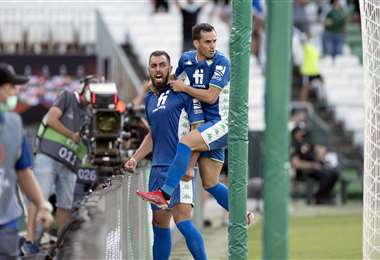 Betis arranca con remontada en Europa League. Foto AFP