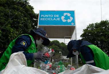 Expocruz alienta el reciclado de envases pet