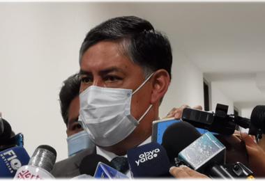 Juan Lanchipa, fiscal general del Estado