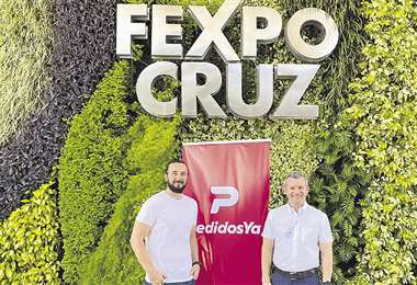 Fexpocruz y PedidosYa buscan beneficiar de manera directa al ciudadano