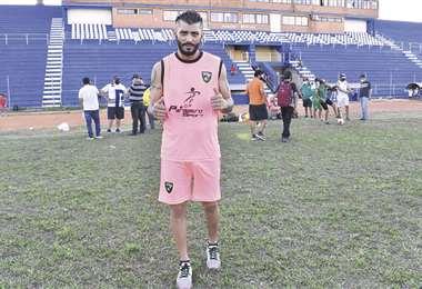 Yasmani Duk, de Libertad FC, que saca ventaja en la serie de los benianos