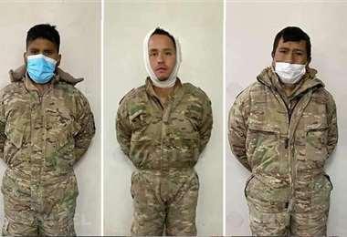 Los militares cumplen 10 días de detención