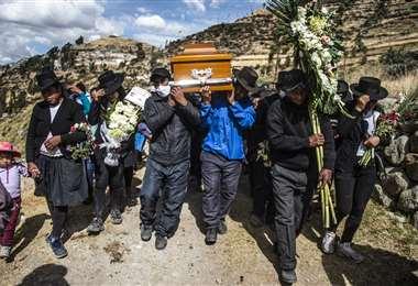 Perú es el país con la tasa de mortalidad más alta del mundo por la pandemia. Foto AFP