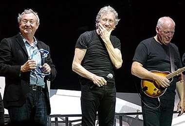 Nick Mason, Roger Waters y David Gilmour