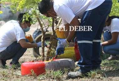 Campaña de limpieza en el barrio Polanco/Foto: Ricardo Montero