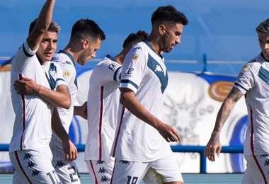 Vélez Sarsfield festejó una nueva victoria para subir en la tabla. Foto: Prensa Vélez