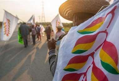 Los nativos del oriente piden frenar el avasallamiento de sus tierras/Foto: EL DEBER