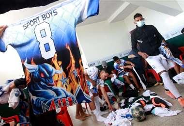 Al inicio del torneo Sport Boys no tenía uniforme alterno. Foto: Ricardo Montero
