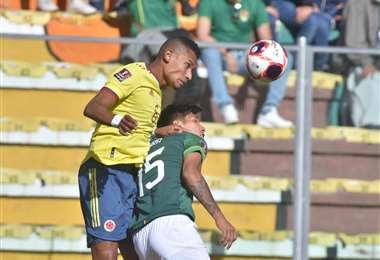 Bolivia y Colombia ya juegan en el Hernando Siles. Foto: APG