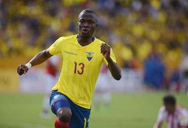 Enner Valencia, delantero de la selección ecuatoriana. Foto: Internet