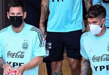 Messi está en Venezuela