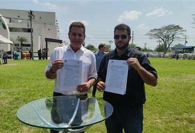 El acuerdo se firmó en los predios de Fexpocruz
