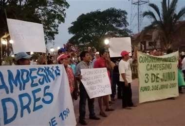 Cabildo realizado en Ascensión de Guarayos