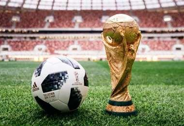 La Copa del Mundo se disputa cada cuatro años. Foto: Internet