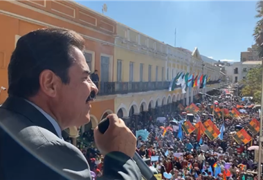 El alcalde de Cochabamba I captura.