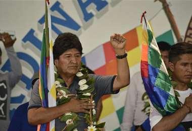 Evo Morales, dirigente cocalero I radio Kawsachun Coca.
