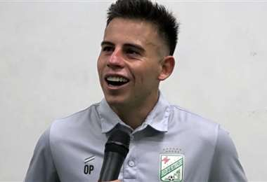 Henry Vaca marcó dos goles ante Palmaflor. Foto: Captura de pantalla