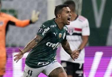 Palmeiras viene de eliminar en cuartos de final a Sao Paulo. Foto: Internet