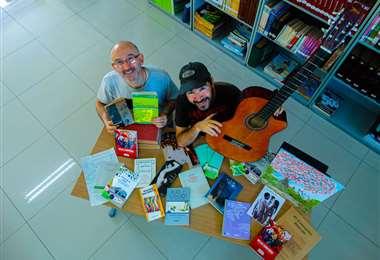 Puky Gutiérrez y Gustavo Rivero recorren la historia de las letras en la región