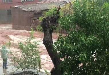 En Camargo el desborde de algunas quebradas tiene a la gente en alerta