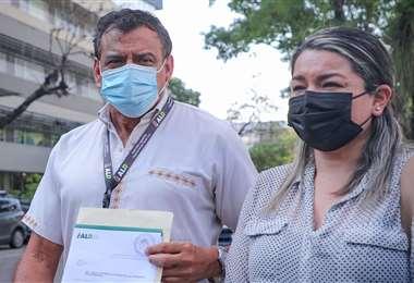 Iván Quezada y Yelly Baldivieso, asambleístas
