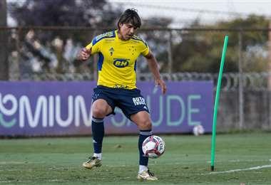 Marcelo Martins, delantero del Cruzeiro. Foto. Cruzeiro