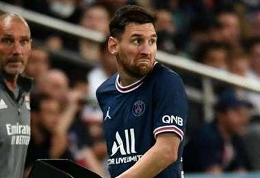 Messi aún no ha marcado goles en la Liga francesa. Foto: Internet