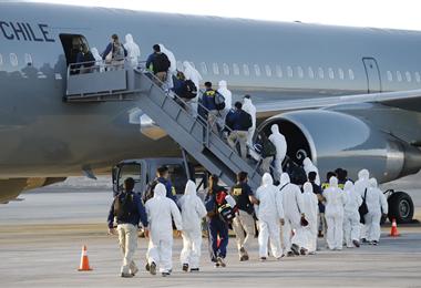 En febrero de 2021 Chile ya expulsó a más de 100 ilegales. Foto. Internet