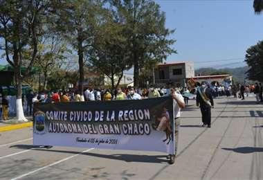 Se realizarán tres puntos de bloqueos en las carreteras que unen con Tarija y Santa Cruz