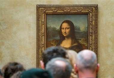 La obra original de Da Vinci