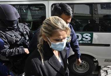 La exmandataria está recluida desde marzo. Foto AFP